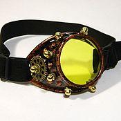 """Субкультуры handmade. Livemaster - original item МОНОКЛЬ СТИМПАНК.""""SCIENTIST CYBER-3"""". Handmade."""