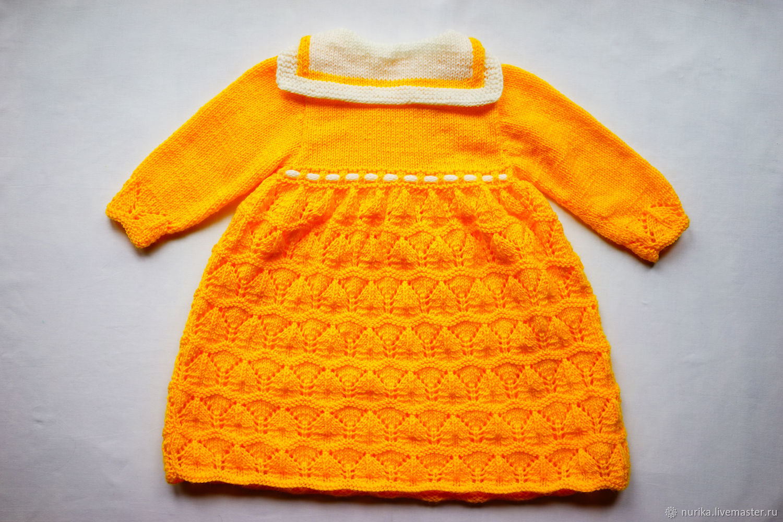 Платье для малышки 1-1,5 года