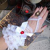 Аксессуары ручной работы. Ярмарка Мастеров - ручная работа Белоснежные кружевные перчатки. Handmade.