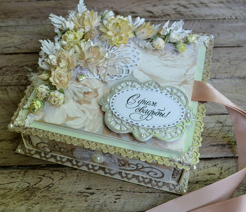 Ящик для открыток на свадьбу
