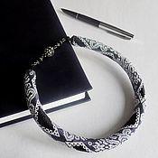 handmade. Livemaster - original item choker harness Lace. Handmade.