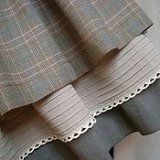 """Одежда ручной работы. Ярмарка Мастеров - ручная работа Летняя двойная юбка """"бохо"""". Handmade."""