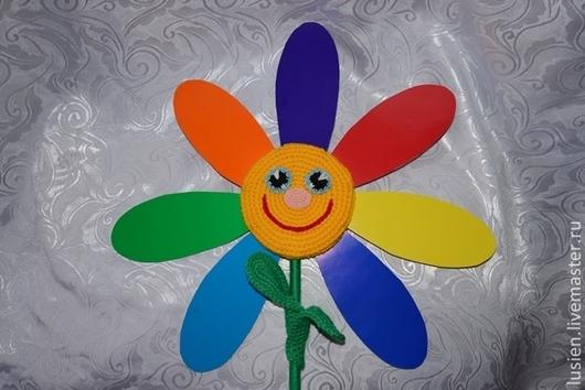 Сказочные персонажи ручной работы. Ярмарка Мастеров - ручная работа. Купить Цветик-семицветик. Handmade. Разноцветный, детский сад
