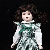 Винтаж handmade. Livemaster - original item Porcelain vintage doll in a box. Handmade.