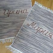 Русский стиль ручной работы. Ярмарка Мастеров - ручная работа Половик домотканый. Handmade.