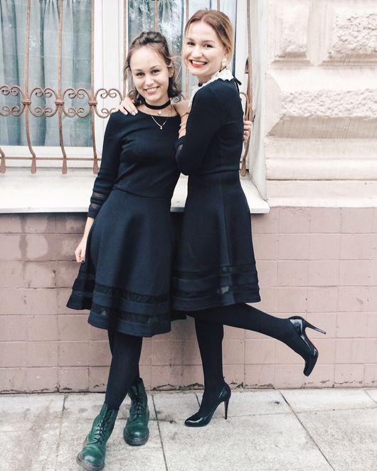 Платья ручной работы. Ярмарка Мастеров - ручная работа. Купить Маленькое чёрное платье. Handmade. Черное платье, на все случаи жизни