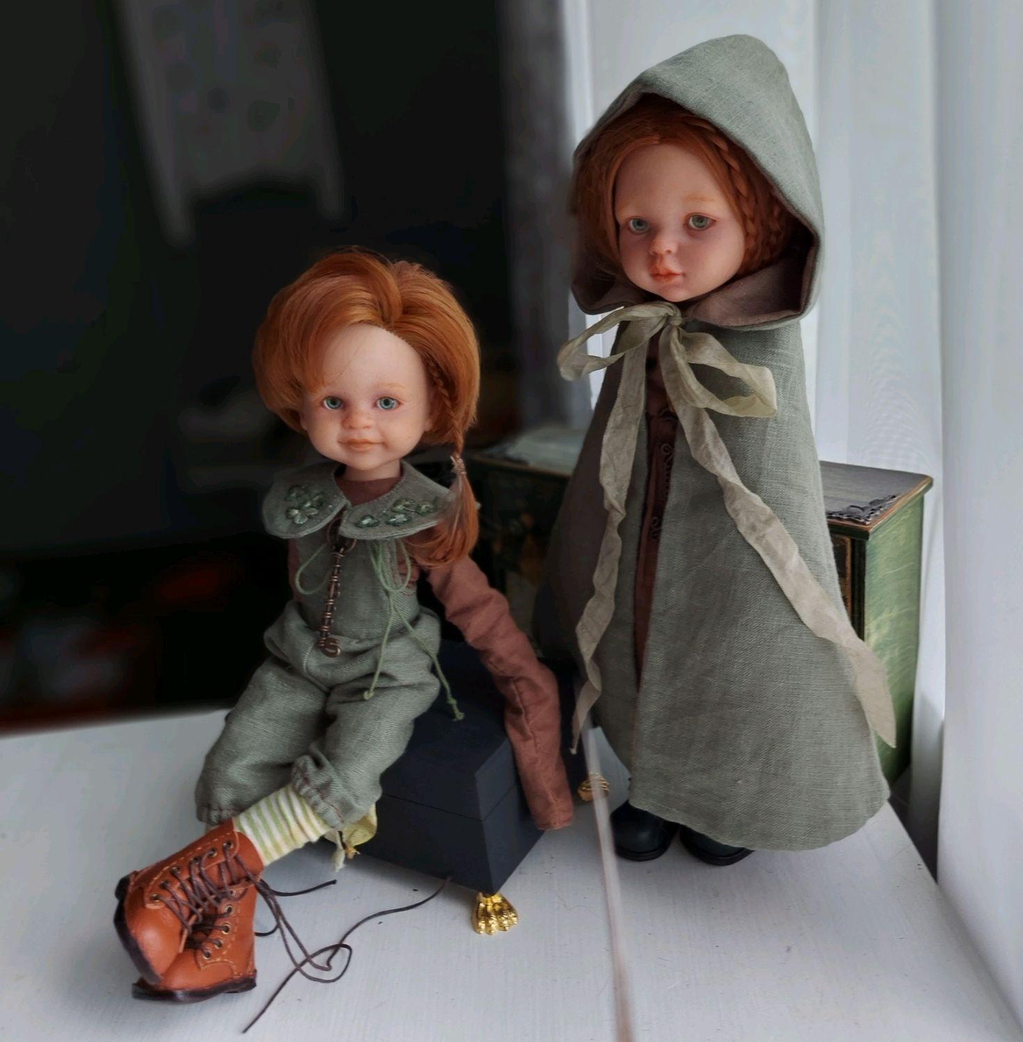 Пак с волшебных холмов. Кукла шарнирная, Шарнирная кукла, Туапсе,  Фото №1