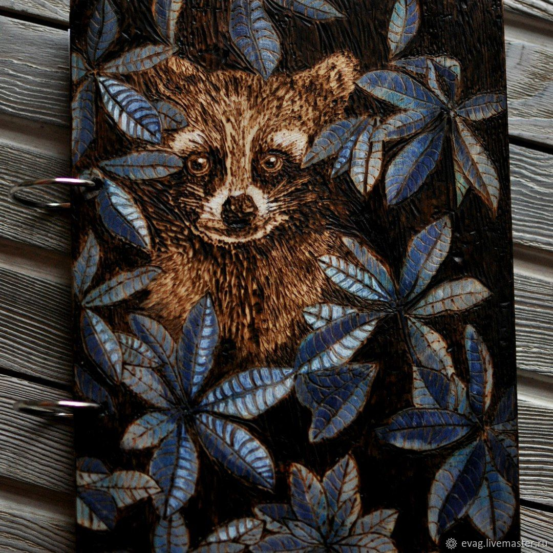 """Notepad A5 """"Racoon"""", Notebooks, Moscow,  Фото №1"""