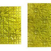Элементы интерьера ручной работы. Ярмарка Мастеров - ручная работа 3D Декоры на стеклянной мозаике УФ печать. Handmade.