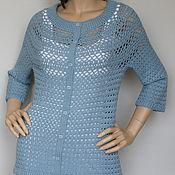 Одежда handmade. Livemaster - original item Jacket cashmere-Angora-Merino,