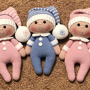 Куклы и игрушки ручной работы. Ярмарка Мастеров - ручная работа Пупсы. Handmade.