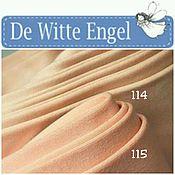 """Кукольный трикотаж """"Белый ангел""""(De witte engel) оттенки 115 и 114"""