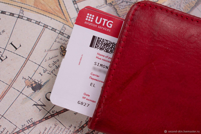 Обложка-Кошелек  для путешествий на 2 паспорта, Обложки, Москва,  Фото №1