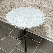 Столы ручной работы. Ярмарка Мастеров - ручная работа Журнальный столик из искусственного камня. Handmade.
