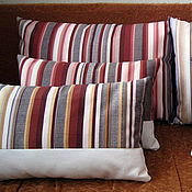 Для дома и интерьера ручной работы. Ярмарка Мастеров - ручная работа Декоративные подушки в современном стиле. Handmade.