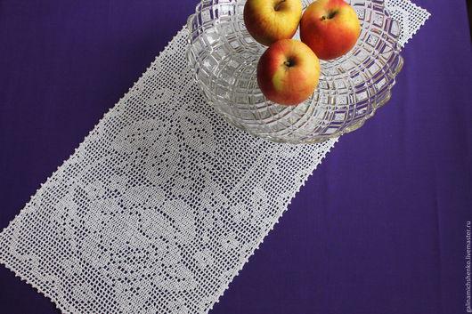 Текстиль, ковры ручной работы. Ярмарка Мастеров - ручная работа. Купить Салфетка № 192. Handmade. Белый, салфетка из льна