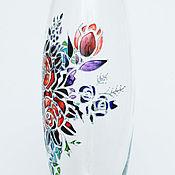 Для дома и интерьера ручной работы. Ярмарка Мастеров - ручная работа Ваза с цветами. Handmade.