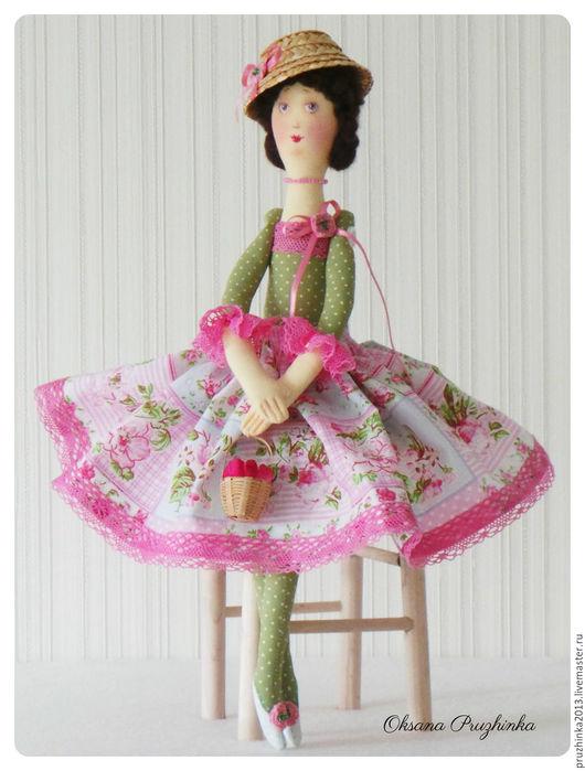 Коллекционные куклы ручной работы. Ярмарка Мастеров - ручная работа. Купить Садовые феи. Розоцветы. Handmade. Розовый, подарок подруге