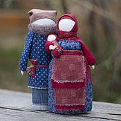 """Куклы и игрушки ручной работы. Ярмарка Мастеров - ручная работа Парочка семейная """"Традиция""""  народная кукла семья. Handmade."""