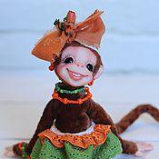 Куклы и игрушки ручной работы. Ярмарка Мастеров - ручная работа обезьянка Мари. Handmade.