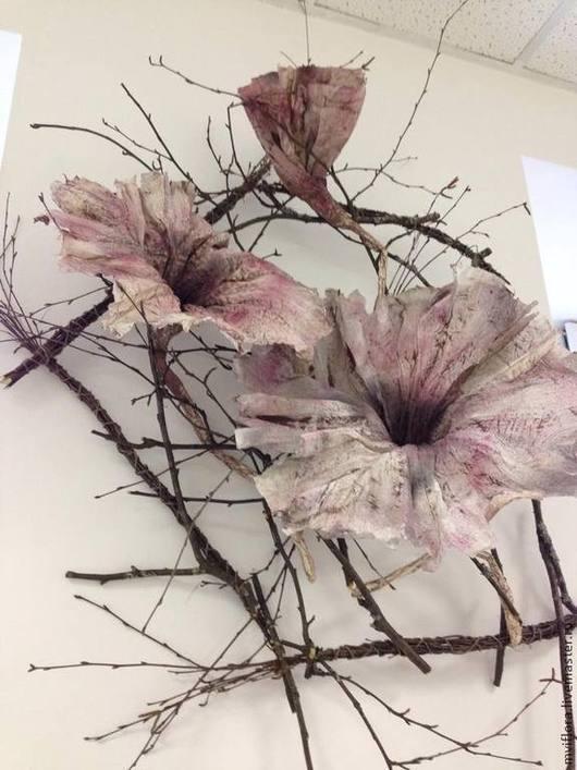 Цветы из бумаги в Мастерской Ивановой Марии