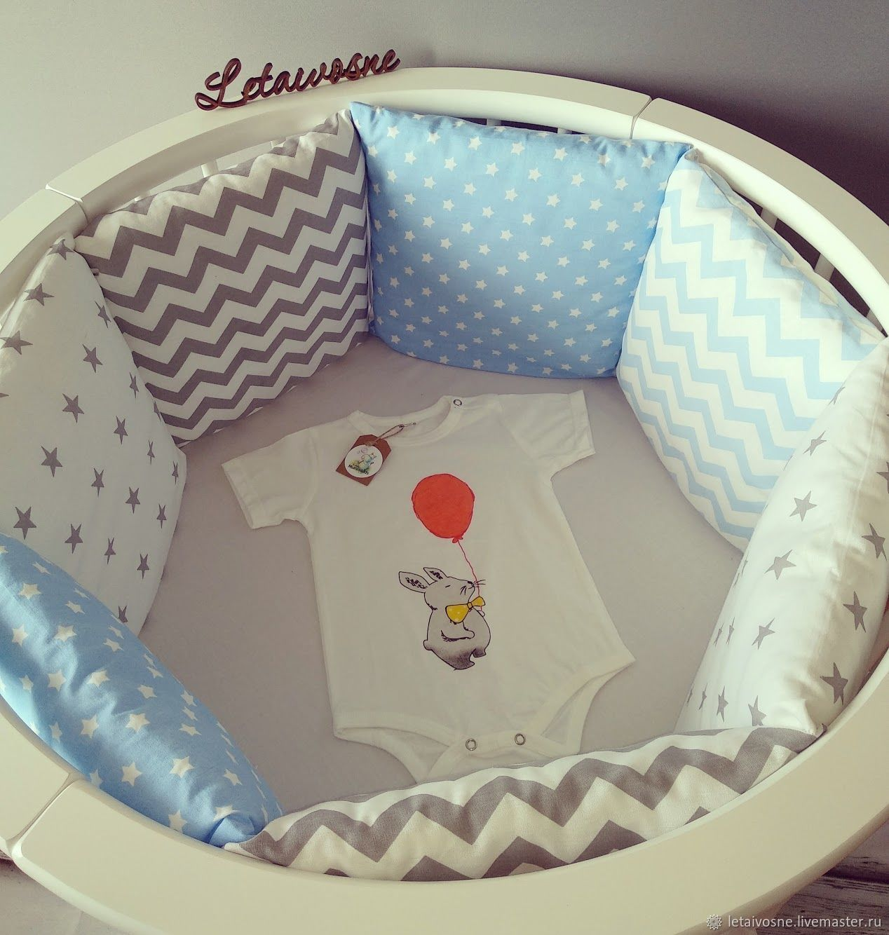 бортики «Little prince», Бортики в кроватку, Санкт-Петербург,  Фото №1