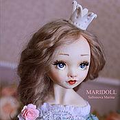 Куклы и пупсы ручной работы. Ярмарка Мастеров - ручная работа Принцесса Велари будуарная кукла. Handmade.
