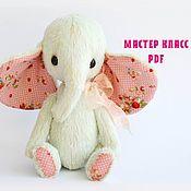 Куклы и игрушки handmade. Livemaster - original item Master class elephant Teddy, MC elephant, how to sew an elephant. Handmade.