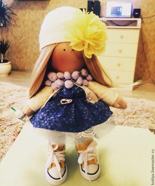Куклы тыквоголовки ручной работы. Ярмарка Мастеров - ручная работа. Купить текстильные куклы. Handmade. Кукла ручной работы