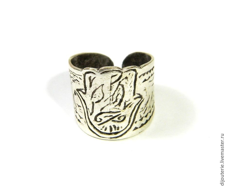 (04)Ring, Hand of Fatima, amulet, talisman, Rings, Saratov,  Фото №1