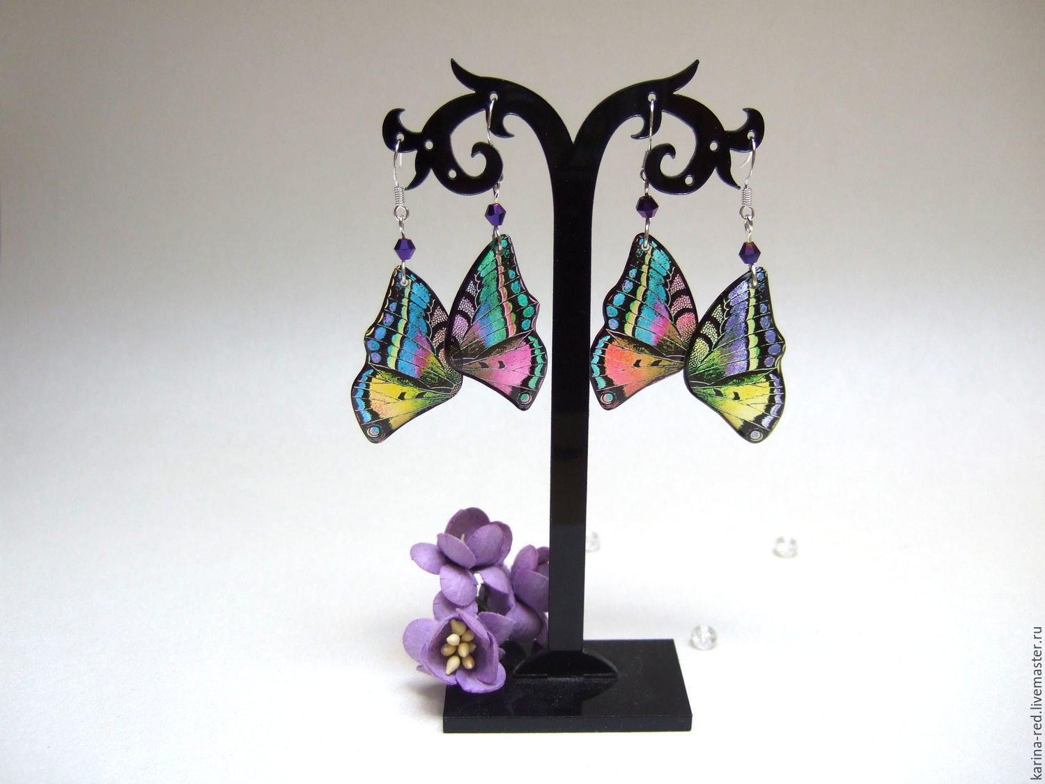 transparent wings earrings butterfly gift shop epoxy resin jewelry shop to buy jewelry gift earrings photo jewelry epoxy earrings butterfly wings insects boho