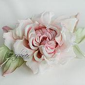 Цветы и флористика handmade. Livemaster - original item Flowers made of fabric. Silk flowers. Rose