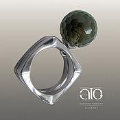 Украшения handmade. Livemaster - original item Ring with rauchtopaz. 925 sterling silver. Handmade.