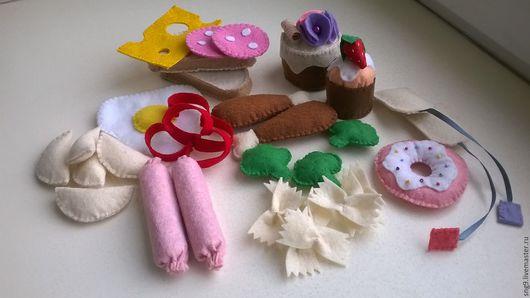 Еда ручной работы. Ярмарка Мастеров - ручная работа. Купить Еда из фетра. Handmade. Комбинированный, фетр