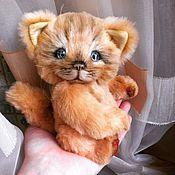Куклы и игрушки ручной работы. Ярмарка Мастеров - ручная работа Мартовский кот Рыжик. Handmade.