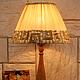 """Освещение ручной работы. Настольная лампа """"Сафари"""". Лариса. Ярмарка Мастеров. Освещение, уютный дом"""