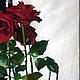 Натюрморт ручной работы. Розы и музыка сфер. Мэрри. Интернет-магазин Ярмарка Мастеров. Розы, современная картина, цветы
