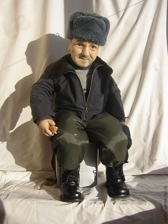 Doll Fisherman portrait photo, Portrait Doll, Ryazan,  Фото №1