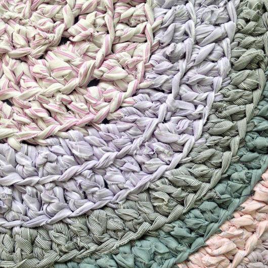 Текстиль, ковры ручной работы. Ярмарка Мастеров - ручная работа. Купить Meow RUG. Handmade. Комбинированный, коврик крючком