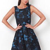 Одежда handmade. Livemaster - original item Dress with floral print. Handmade.