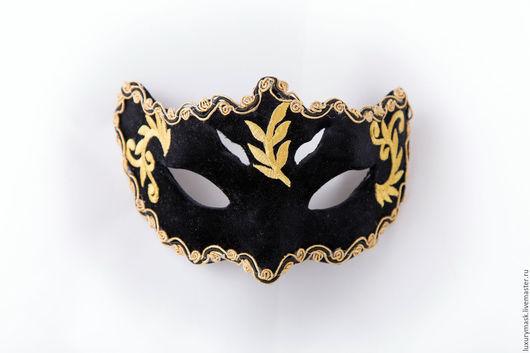 """Карнавальные костюмы ручной работы. Ярмарка Мастеров - ручная работа. Купить Карнавальная маска """" Тайна"""". Handmade. Черный, карнавал"""