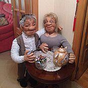 Куклы и игрушки ручной работы. Ярмарка Мастеров - ручная работа Семейная парочка. Авторские куклы. Handmade.