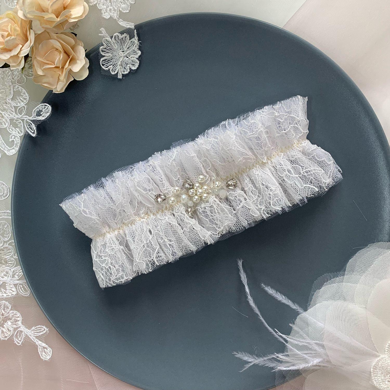 Подвязка невесты «Нежность», Подвязки, Кемерово,  Фото №1