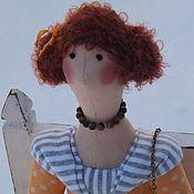 """Куклы и игрушки ручной работы. Ярмарка Мастеров - ручная работа Кукла-Тильда  """"Где ты, Мурзик?"""". Handmade."""