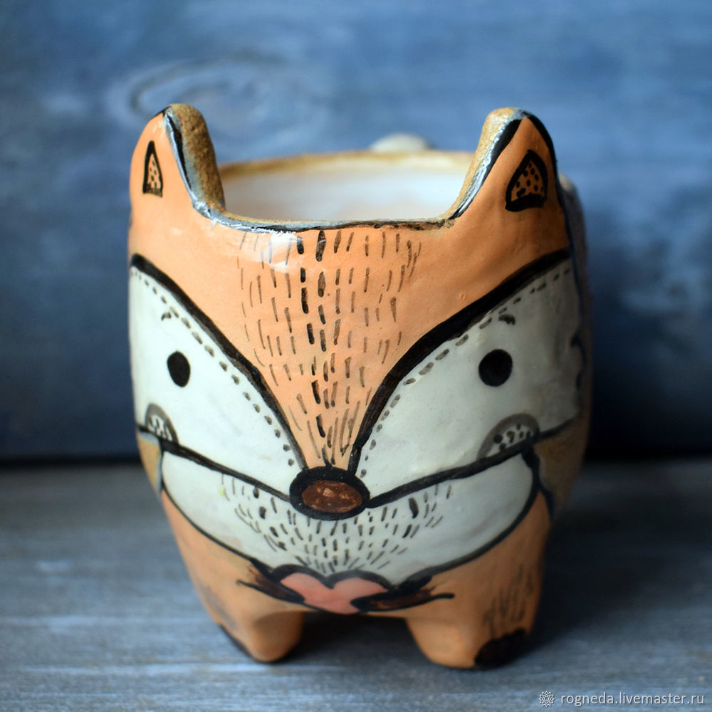 Fox cup with legs - Forest friends series, Mugs and cups, Moscow,  Фото №1