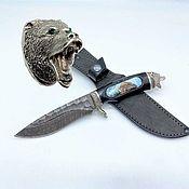 Сувениры и подарки handmade. Livemaster - original item Gifts for hunters and fishermen: Russian hunting knife-3. Handmade.