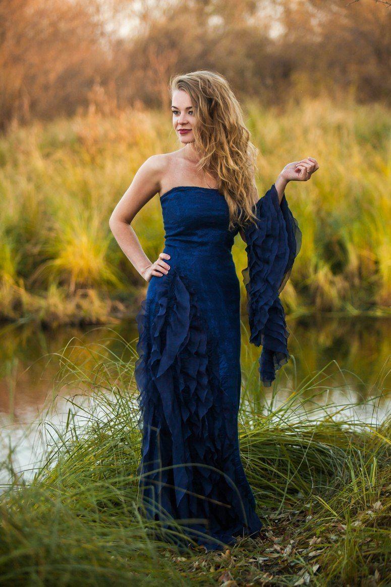 "Платье вечернее ""Шёпот волн"", Dresses, Tyumen,  Фото №1"
