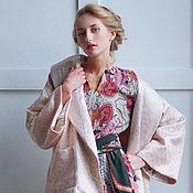 Одежда ручной работы. Ярмарка Мастеров - ручная работа - 50%! Жакет кимоно. Handmade.
