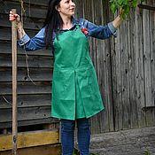 Для дома и интерьера handmade. Livemaster - original item aprons: Women`s apron with pockets
