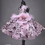 Платья ручной работы. Ярмарка Мастеров - ручная работа Платье для девочки К001. Handmade.